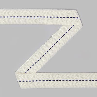 bande serg e avec points de piq re 7 rubans de couture. Black Bedroom Furniture Sets. Home Design Ideas