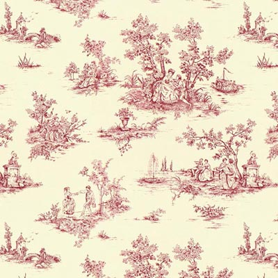 Toile de jouy 2 designer decor fabricsfavorable buying at our shop - Edredon toile de jouy ...