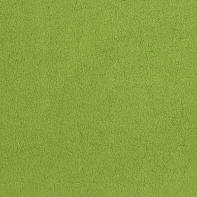 Baumwollfleece hellgrün
