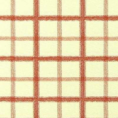Avinion 1 - Bawełna - Poliester - beż - pomarańczowo-czerwony
