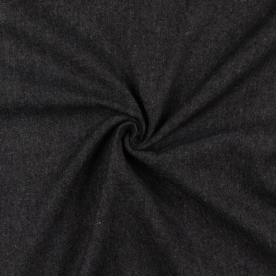 leichter Jeansstoff schwarz