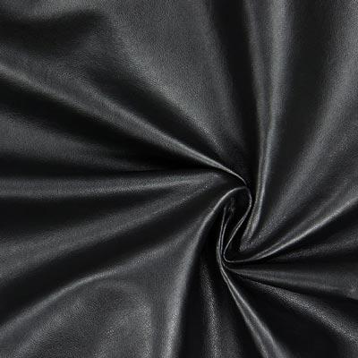 Nappalederimitat schwarz Leder