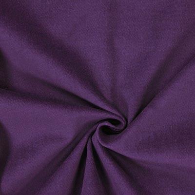 Baumwollsamt lila
