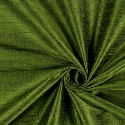 Dupionseide Seide grün