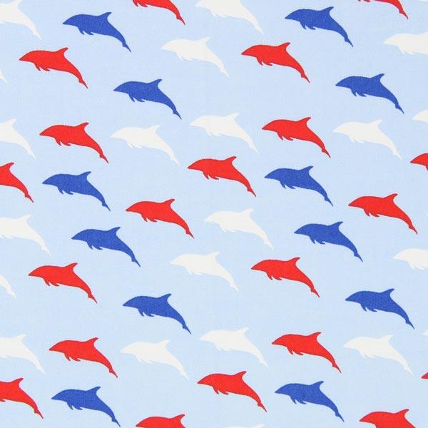 baumwollstoff maritim dolphins kinderdekostoffe. Black Bedroom Furniture Sets. Home Design Ideas