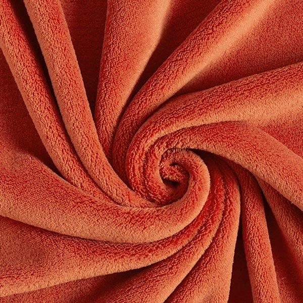 Wellnessfleece Sophie – rotorange – Muster