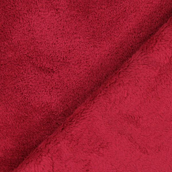 57b14365ddf5 Wellness Flauš Sophie – karminove červená - Plyš- latka.cz