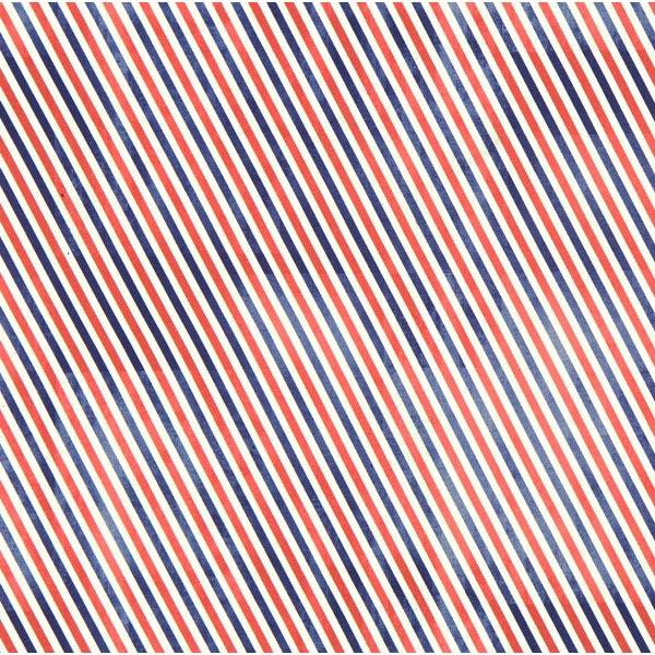 Free Spirit – Schrägstreifen – königsblau – Muster