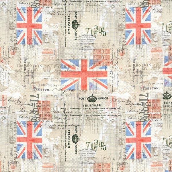Free Spirit – London Telegramm – wollweiss –