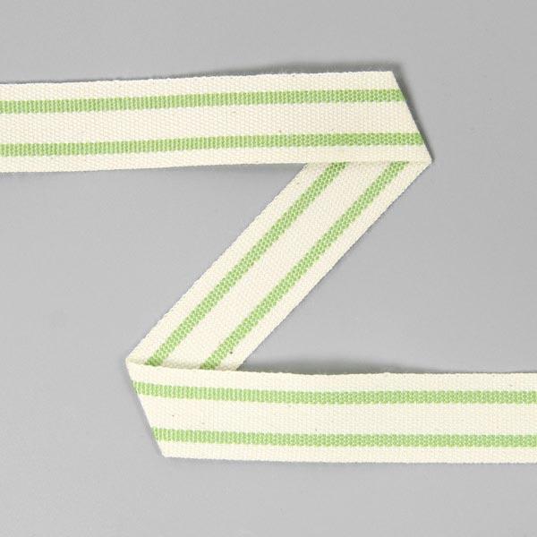 Baumwollband Streifen 3