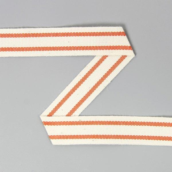 Baumwollband Streifen 6