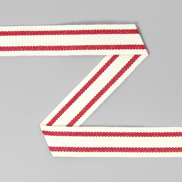 Baumwollband Streifen 8