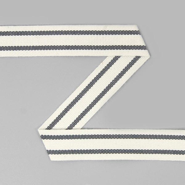Baumwollband Streifen 15