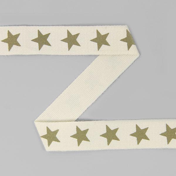 Baumwollband Sterne 1