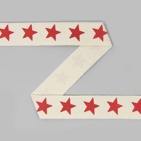 Baumwollband Sterne 8