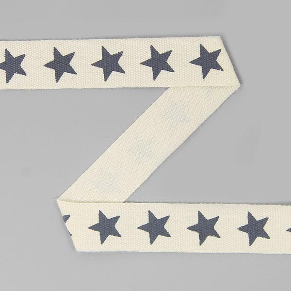 Baumwollband Sterne 15