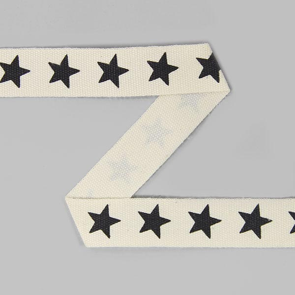 Baumwollband Sterne 16