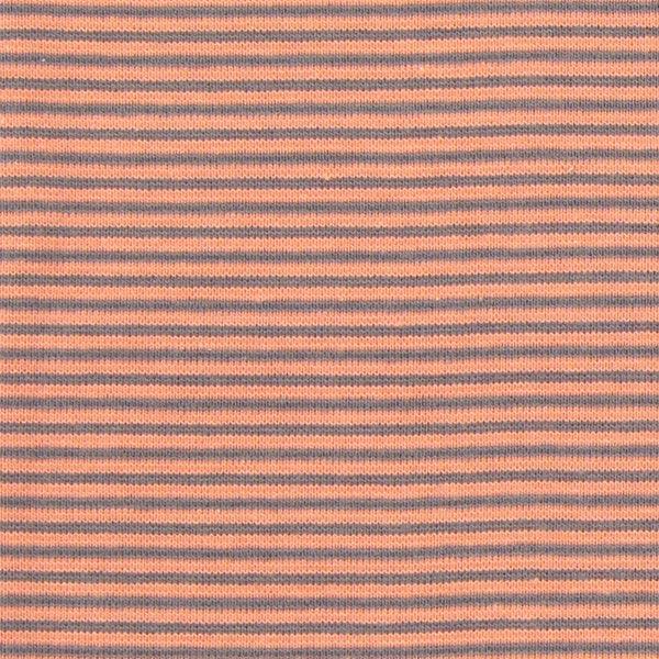 Ringelbündchen 12 - rotorange - Muster