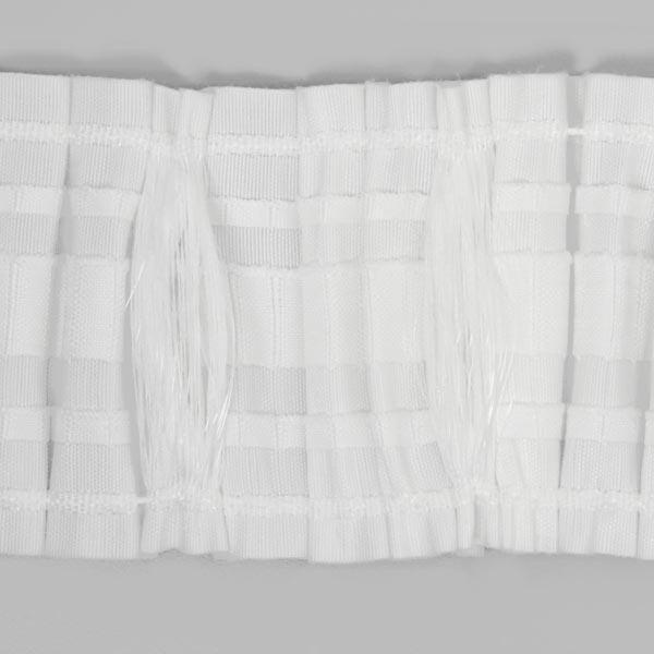bande pliss e en plomb avec des boucles 85 mm 2 bandes. Black Bedroom Furniture Sets. Home Design Ideas