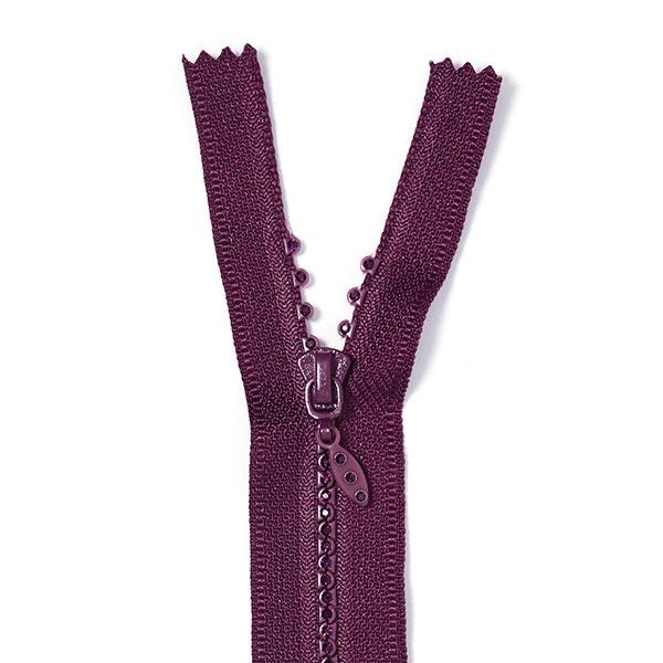 Reissverschluss Strass - purpur