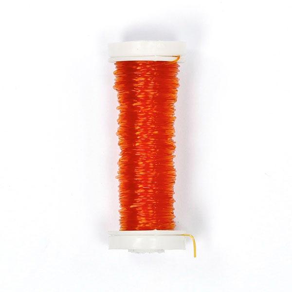 Gummifaden - rotorange