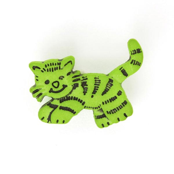 Kunststoffknopf Tiger 3