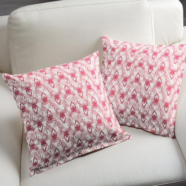 cotton cerf 4 tissus pour enfants animaux. Black Bedroom Furniture Sets. Home Design Ideas