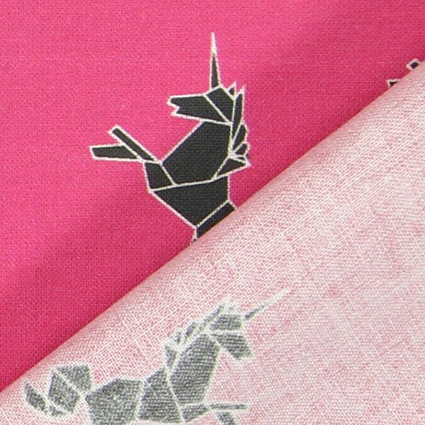 Origami unicorno rosa tessuti arredo con animali for Tavolo unicorno