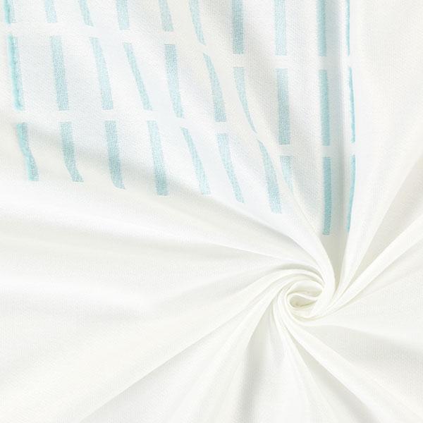 Tela para cortinas yumi 3 blanco turquesa telas de - Muestrario de telas para cortinas ...