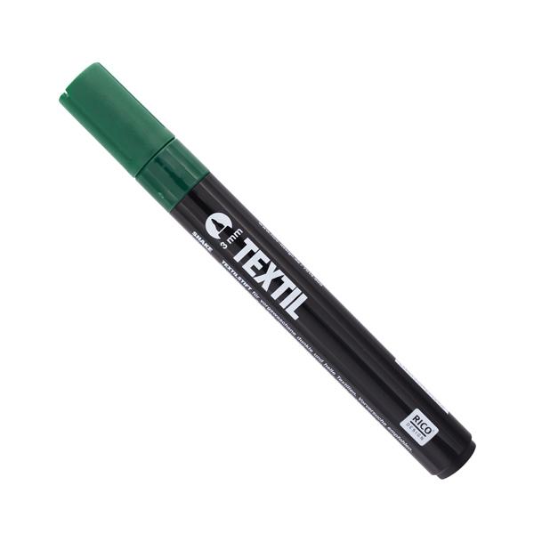 Textilmarker - grün - dunkle Stoffe   Rico Design
