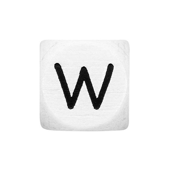 Holzbuchstaben W – weiß   Rico Design