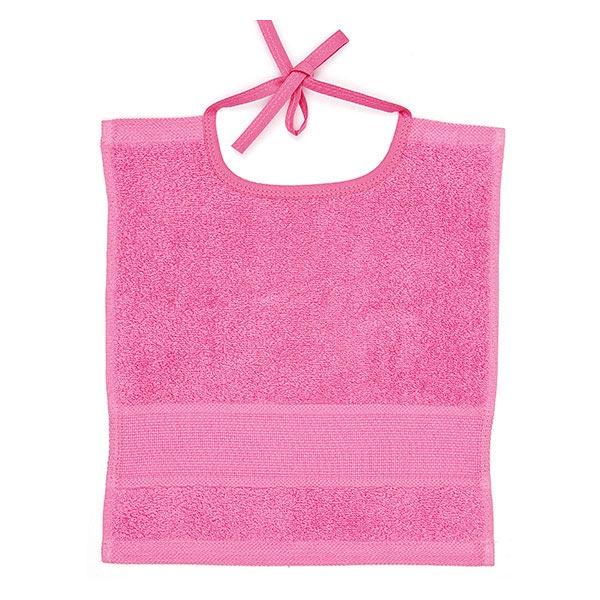 Lätzchen 30 x 34 cm - pink | Rico Design
