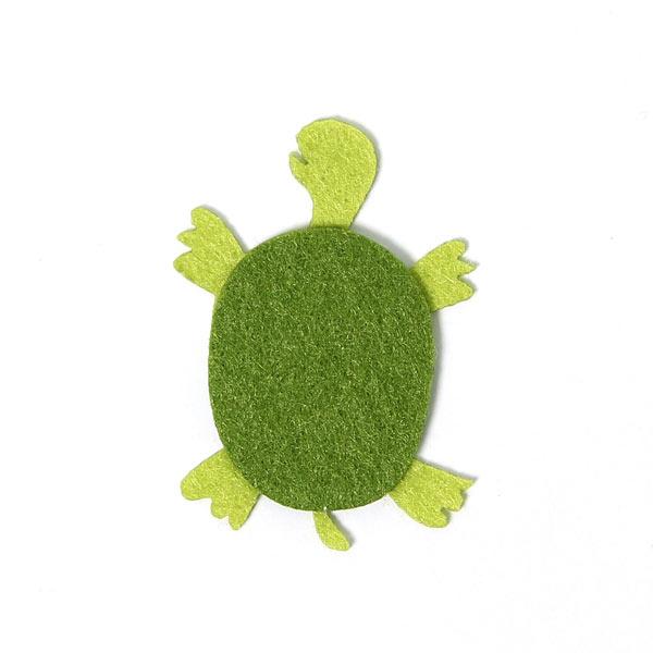 Filzapplikation Schildkröte | Rico Design - Tiere & Co- stoffe.de