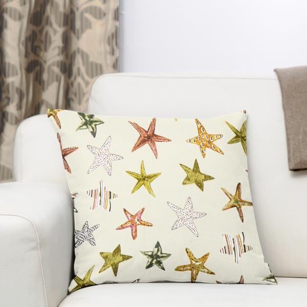 panama starfish 2 creme maritime dekostoffe. Black Bedroom Furniture Sets. Home Design Ideas