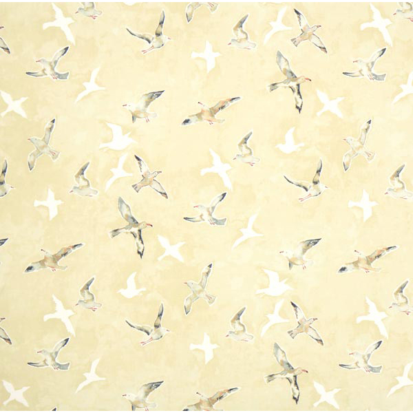 panama seagulls 1 beige maritime dekostoffe. Black Bedroom Furniture Sets. Home Design Ideas