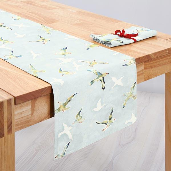 panama seagulls 2 hellblau maritime dekostoffe. Black Bedroom Furniture Sets. Home Design Ideas
