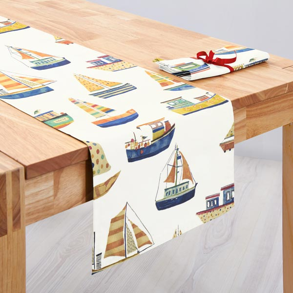 panama boat club 1 creme maritime dekostoffe. Black Bedroom Furniture Sets. Home Design Ideas