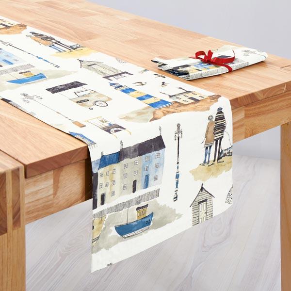 panama seaside 3 weiss maritime dekostoffe. Black Bedroom Furniture Sets. Home Design Ideas