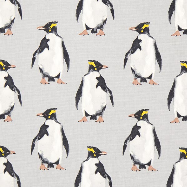 panama penguin 1 perlgrau maritime dekostoffe. Black Bedroom Furniture Sets. Home Design Ideas