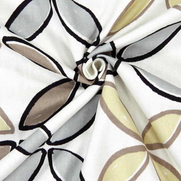 Pop 1 - beige - Tessuti arredo retrò - Tessuti arredo a fiori ...