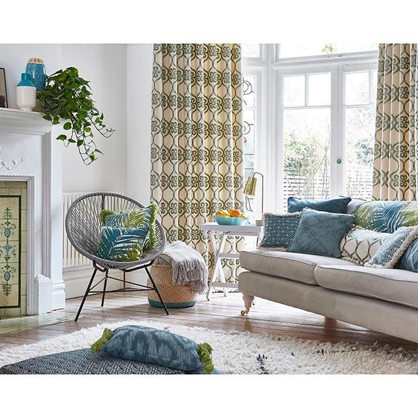 tissu d ameublement jungle marron tissus de rev tement. Black Bedroom Furniture Sets. Home Design Ideas