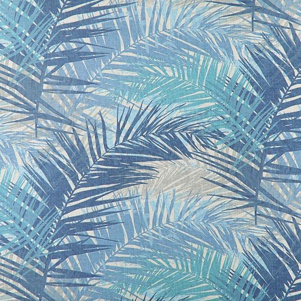 Polsterstoff mit exotischem Palmenmotiv