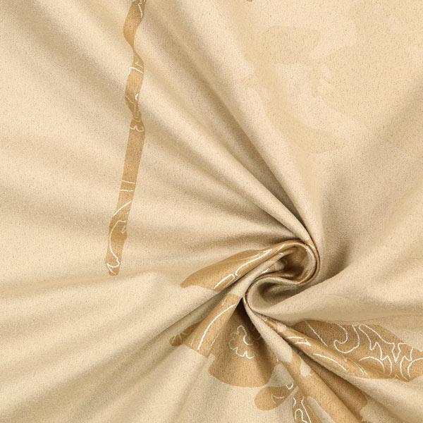 Tissu d coration peau de p che mer de feuilles 2 soldes d t tissus - Tissu peau de peche ...