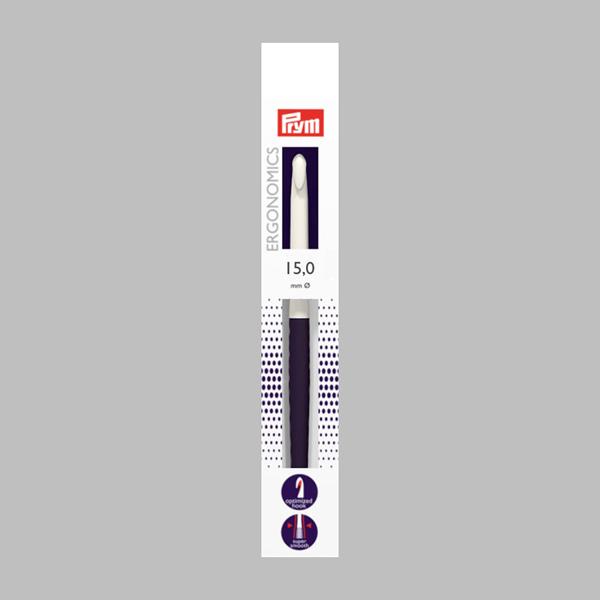 15 18,5cm Aguja de ganchillo p lana Ergonomics   Prym - Agujas de ...