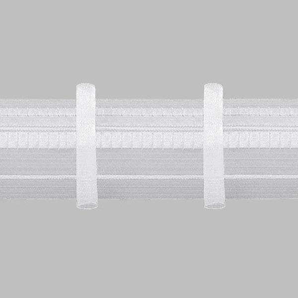 Faltenband 1x, 90 mm – transparent | Gerster