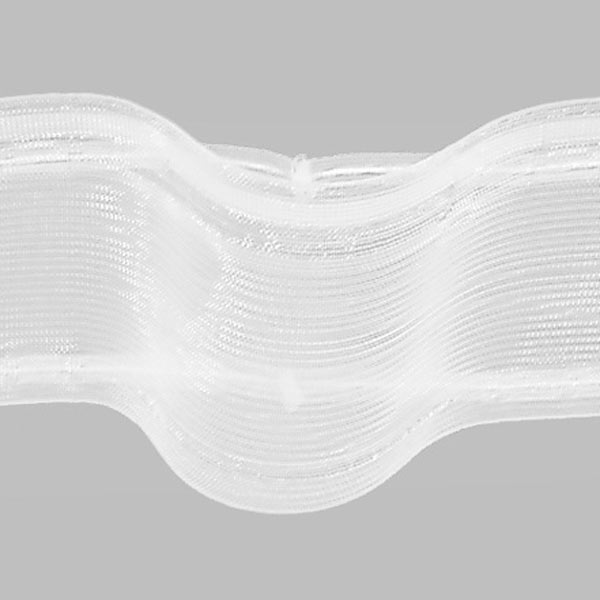 Cinta tipo onda 100 mm transparente gerster cintas para cortinas - Tipos de cintas para cortinas ...