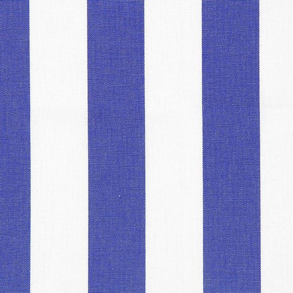 Tela Per Tende Da Esterno.Tessuto Da Esterni Tende Da Sole Righe Toldo Bianco Blu Reale