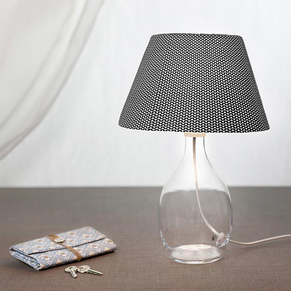 cretonne zick zack trigio schwarz wei cretonne. Black Bedroom Furniture Sets. Home Design Ideas