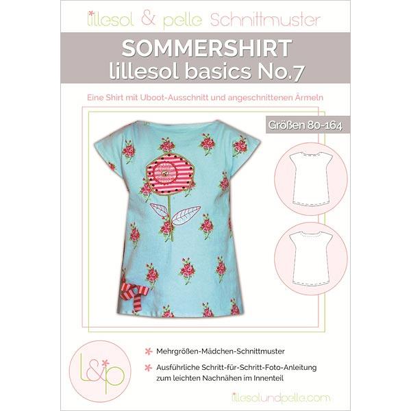 Sommershirt von lillesol & pelle
