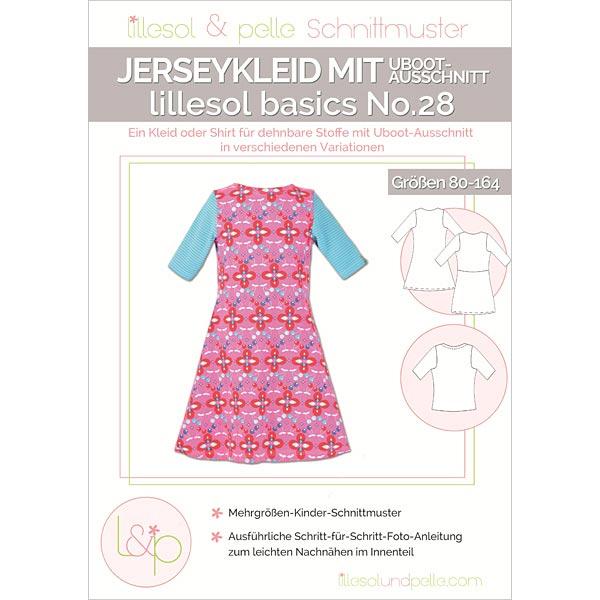 Jerseykleid mit U-Boot-Ausschnitt, Lillesol & Pelle No. 28 | 80 ...